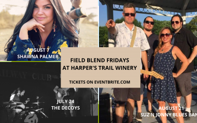 Field Blend Fridays At Harper's Trail Winery