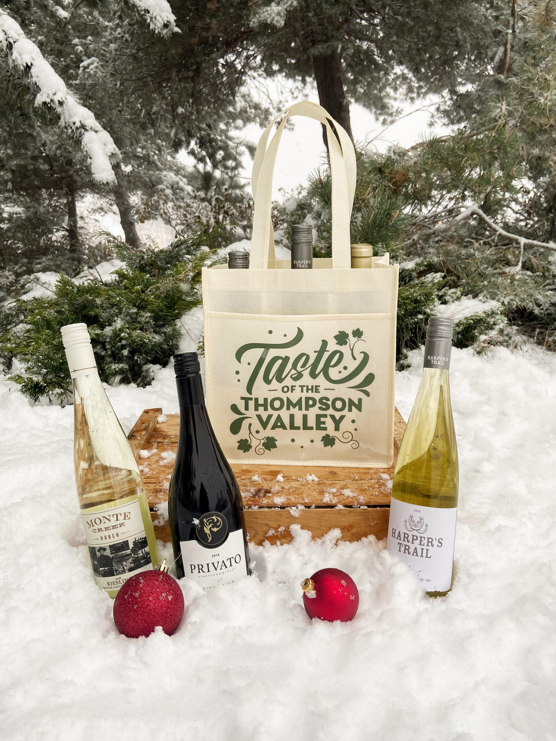 6 Bottle Kamloops Wine Tote