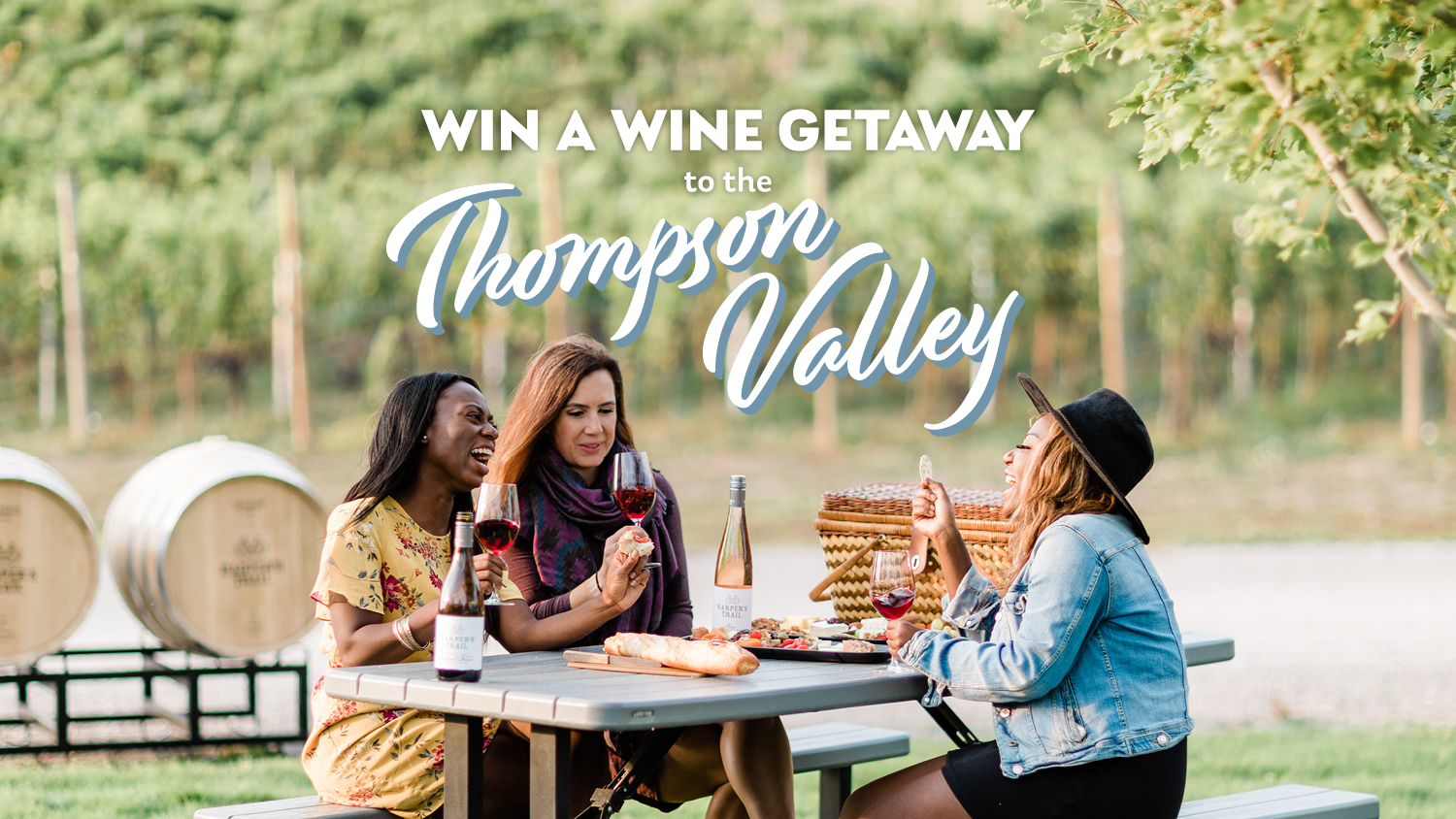 Contest: Win a Wine Getaway to the Thompson Valley